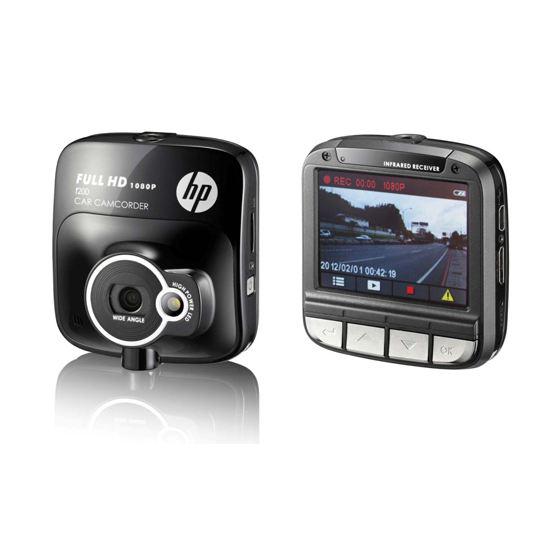 Caméra embarquée HD (Dashcam) HP F210 à 89€ et F200