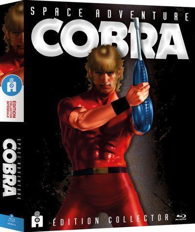 Sélection de coffrets Blu-Ray en promotion - Ex : Intégrale Space Adventure Cobra