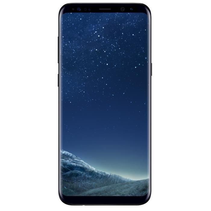 "[Cdiscount à volonté] Smartphone 6.2"" Samsung Galaxy S8+ Noir Carbone"