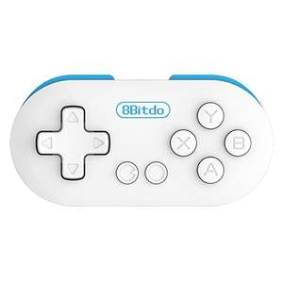 Manette Bluetooth 8Bitdo Zero - Blanc/Rouge ou Blanc/Bleu