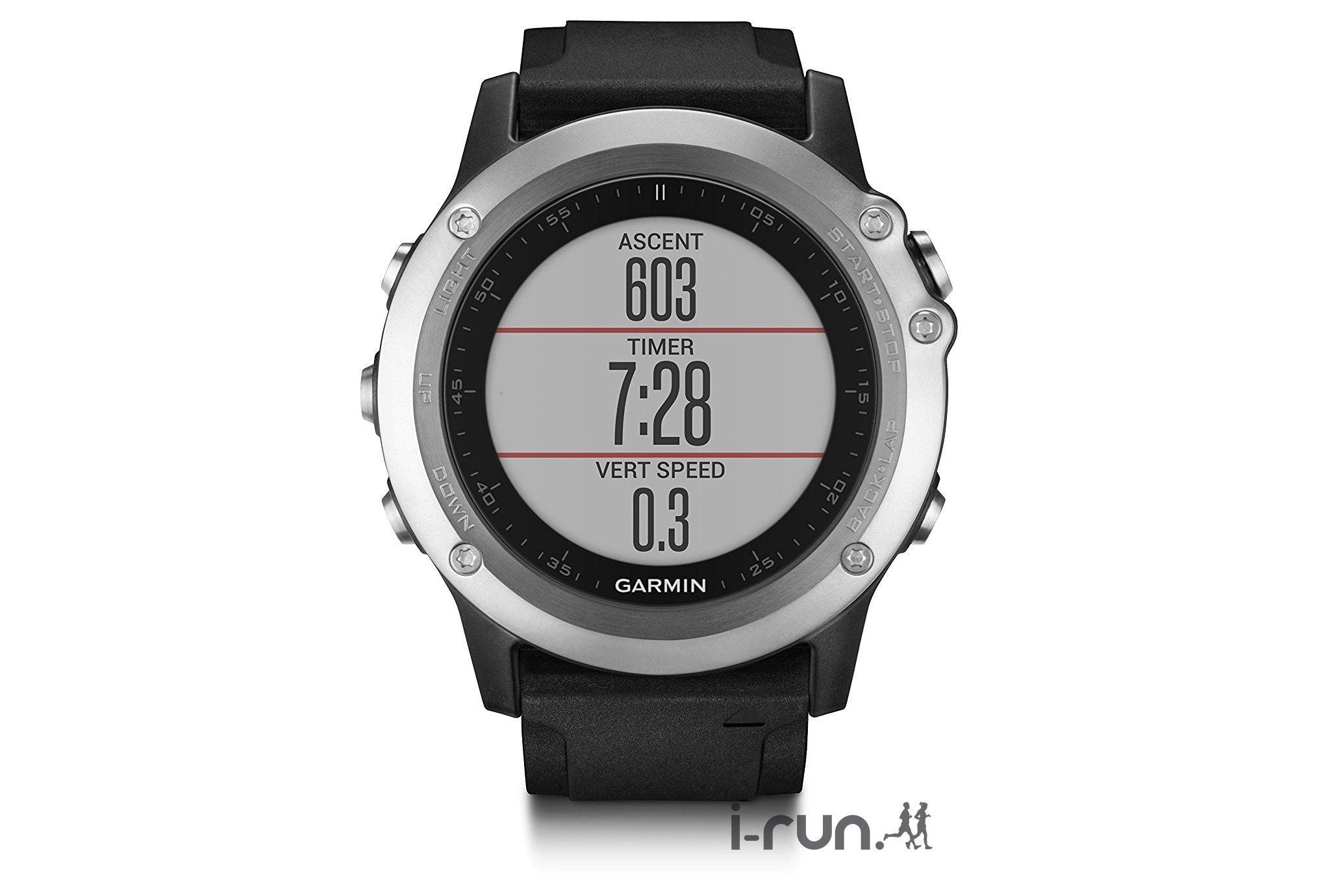 Montre GPS multisports Garmin Fenix 3 HR