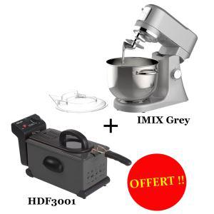 Robot pâtissier Harper Imix + Friteuse Harper HDF3001