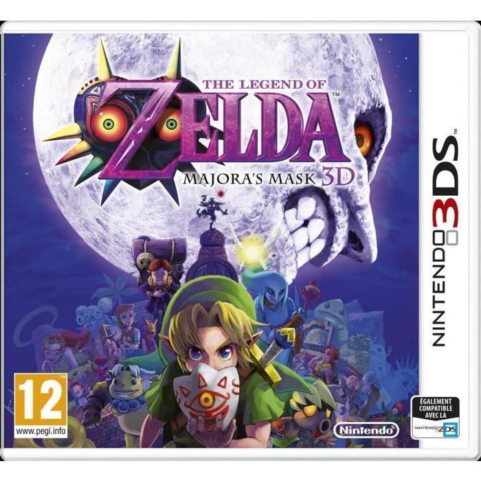 Jeu The Legend of Zelda : Majora's Mask 3D sur Nintendo 3DS