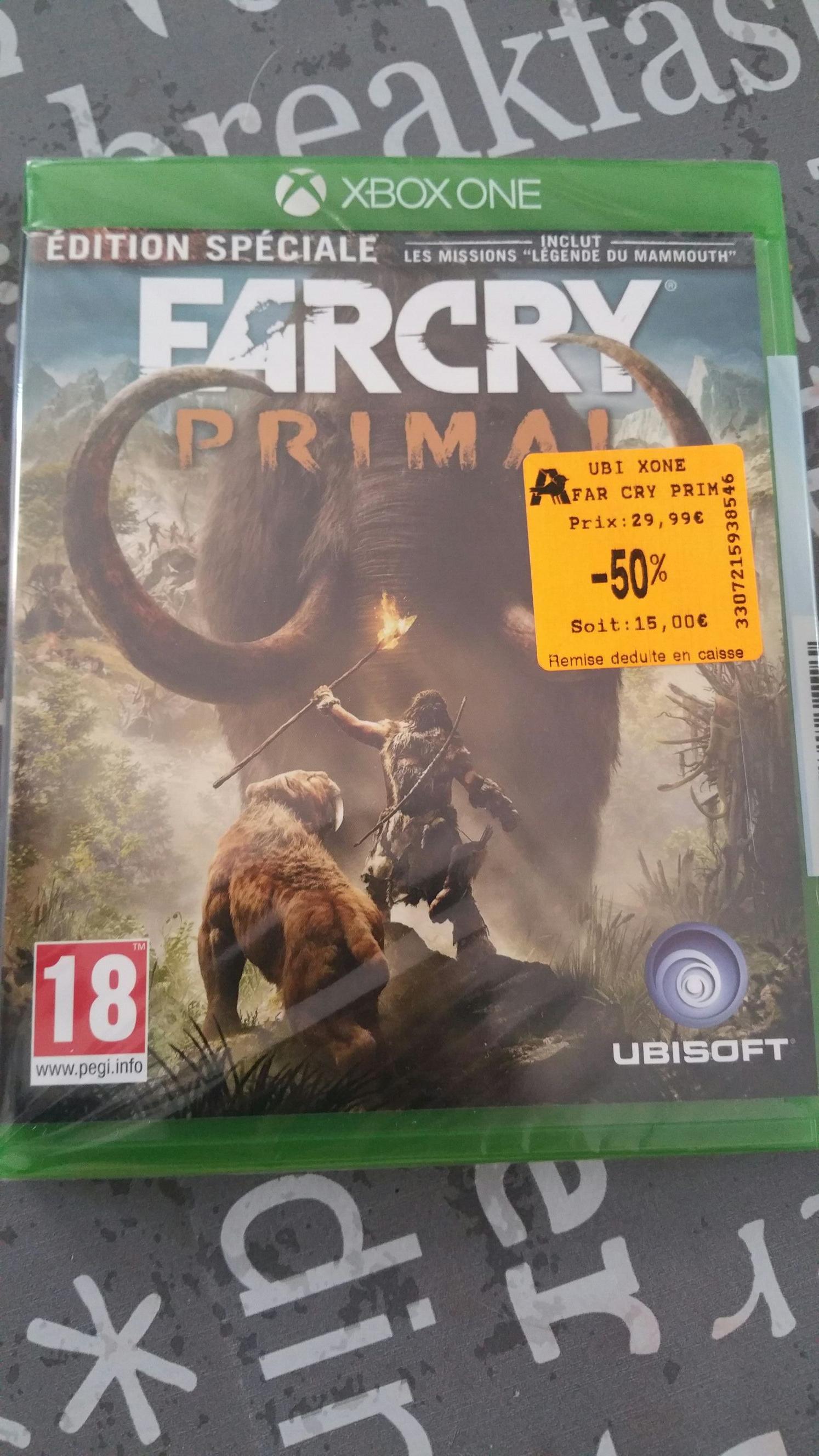 Jeu Far cry Primal - Edition spéciale sur Xbox One