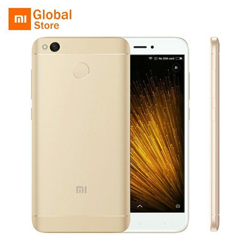 "Smartphone 5"" Xiaomi Redmi 4X Or - 2Go RAM / 16Go ROM (sans B20)"