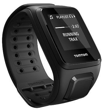 Montre GPS TomTom Spark Music Noir -  Casque Bluetooth, Bracelet Large