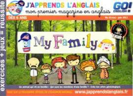 Abonnement 1 an au bimestriel J'apprends l'Anglais (6-8 ans)