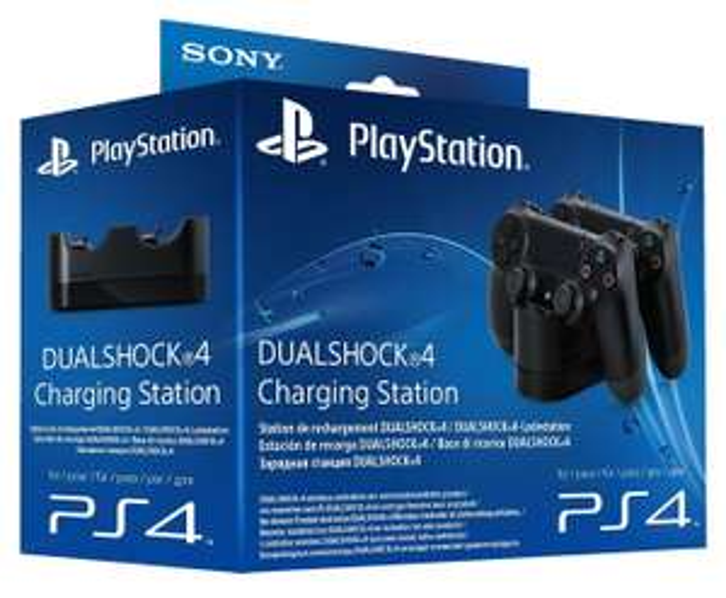 Chargeur dock Dual dock 2 en 1  pour manettes PS4