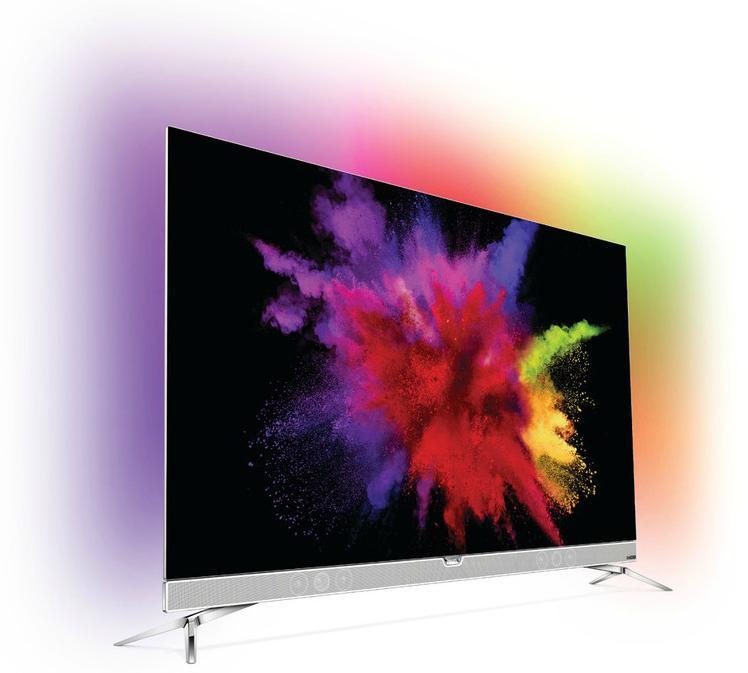 """TV 55"""" Philips 55POS901F OLED 4K (via remise immédiate de 500€)"""