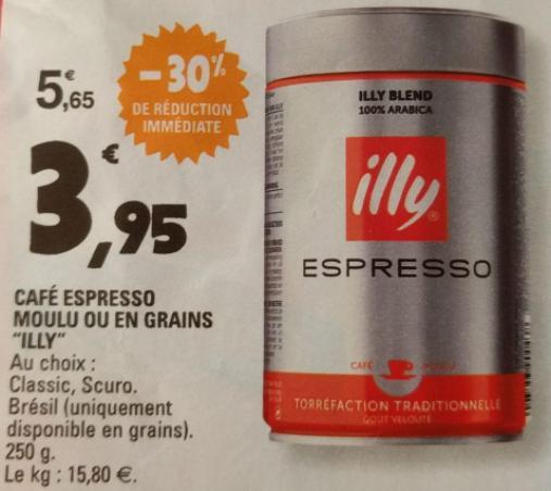 Café expresso moulu ou en grains illy
