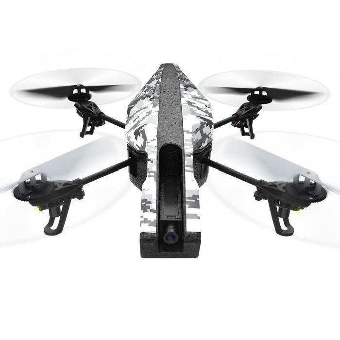 Drone quadricoptère RTF Parrot AR.Drone 2.0 Elite - Édition Snow