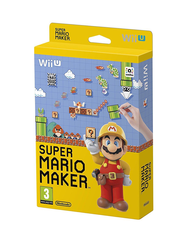 Jeu Super mario maker sur Nintendo Wii U