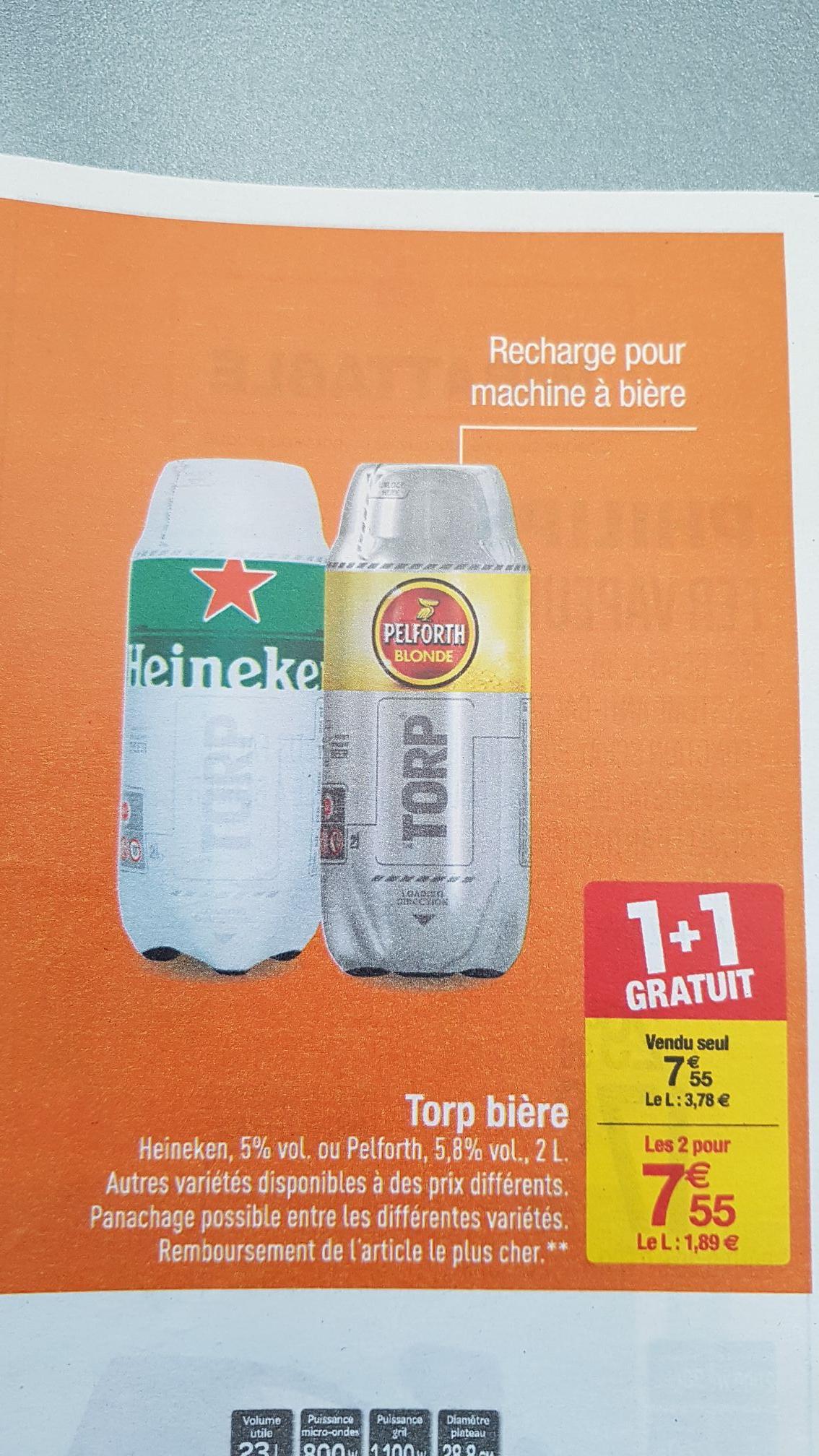 2 Torps de Bière pour machine the Sub