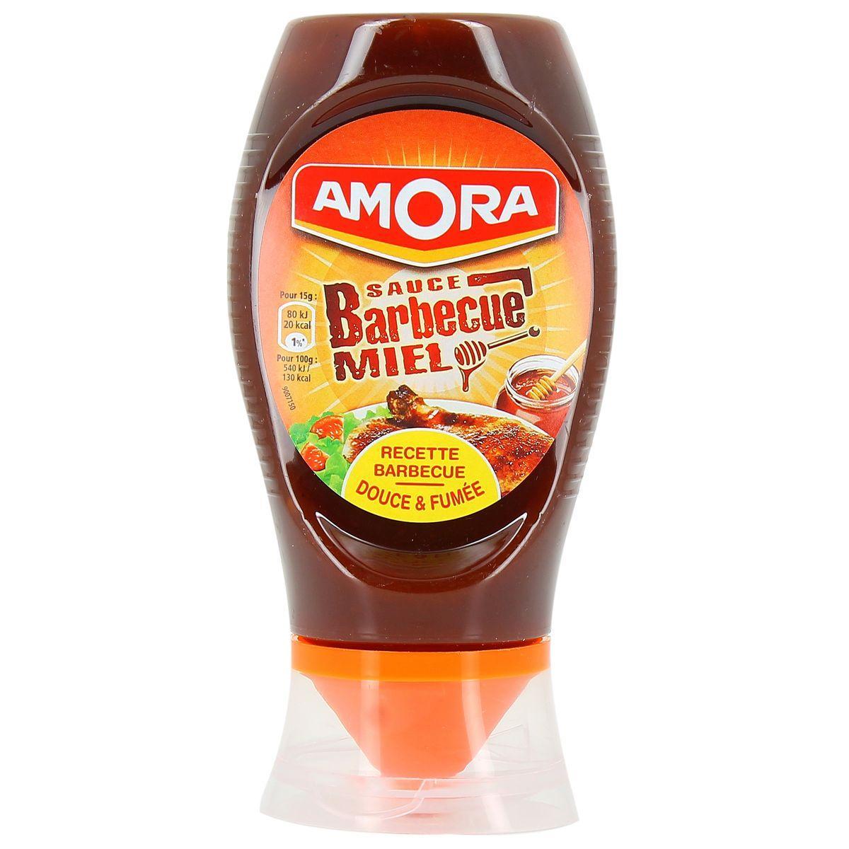 Sélection de produits en promotion - Ex : Sauce Amora au choix (via BDR)