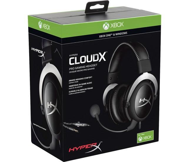 Casque Hyper X CloudX pour Xbox One/PC - Frais de port inclus