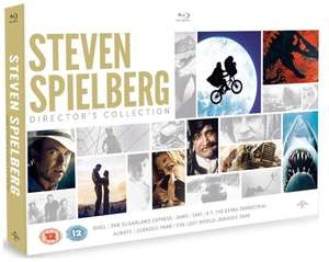 Coffret Blu-ray Steven Spielberg (8 films) - Édition limitée