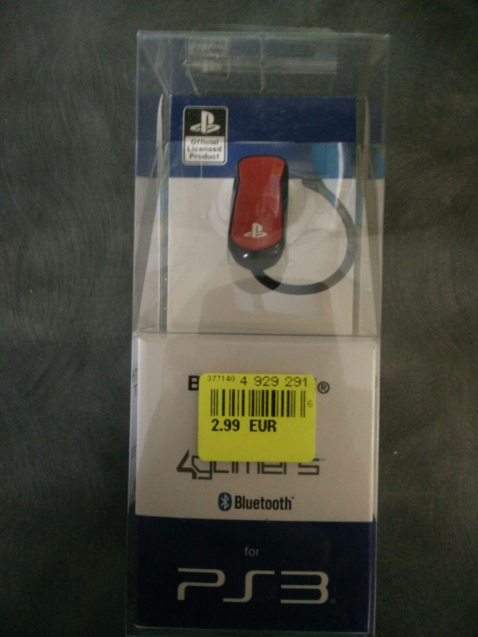 Oreillette Bluetooth pour Console Sony PS3