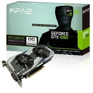Carte graphique KFA2 GeForce GTX 1060 OC - 6 Go