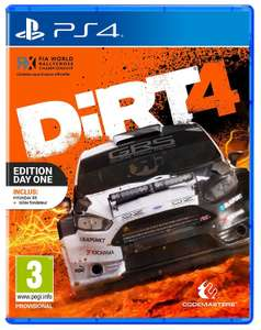 Jeu Dirt 4 Edition Day One sur Xbox One ou PS4