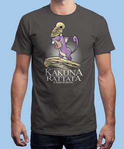 Sélection de T-shirt en promotion - Ex: T-shirt Kakuna Rattata