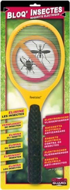Raquette électrique Anti-insectes Bloq'Insectes