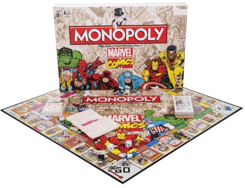 Sélection de Jeux Monopoly en Promotion - Ex : Monopoly Marvel