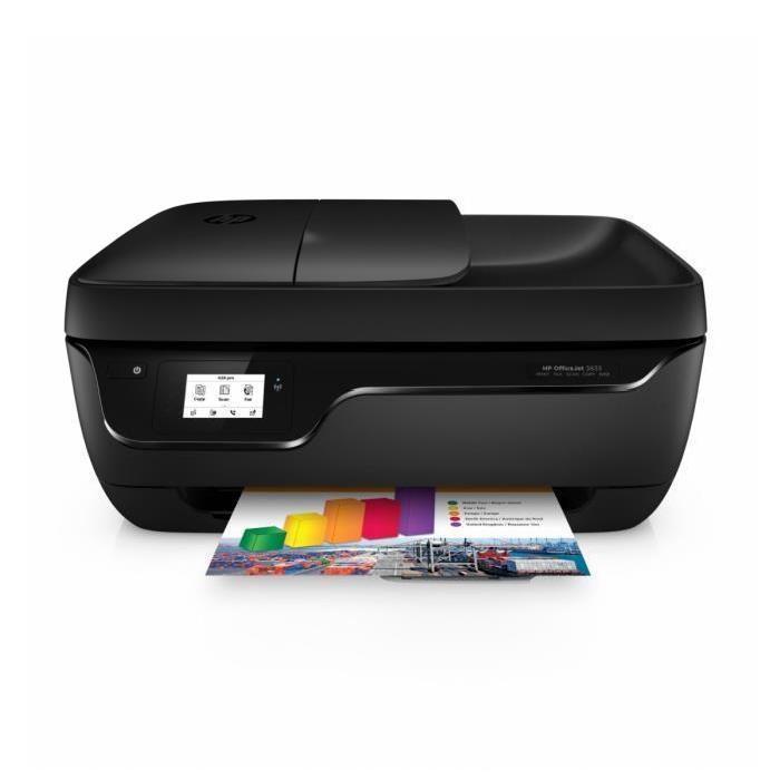 Imprimante HP Officejet 3833 + 4 mois d'essai offerts Instant Ink (via ODR de 20€ + 10€)