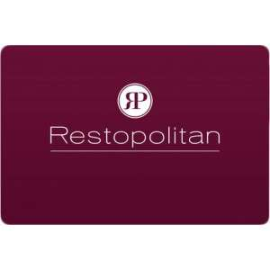 Carte restopolitan 1 an
