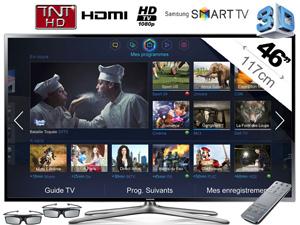 Télévision Samsung UE46F6400 LED TV 3D Smart TV (+ Bon d'achat de 100€ dès 200€)