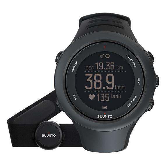 Montre GPS Suunto Ambit 3 Sport (avec ceinture cardio) - Noir