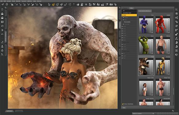 Sélection de modèles 3D de base pour Daz Studio Pro 3D Gratuits