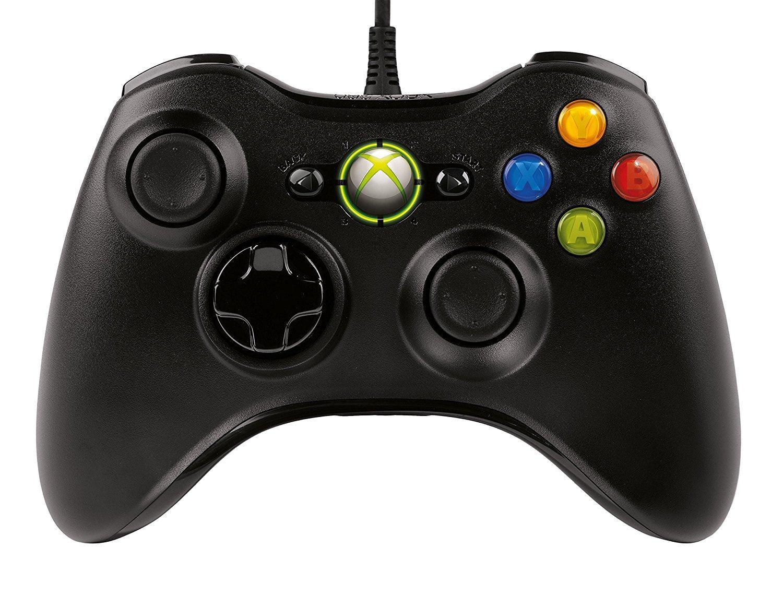 Manette de Jeu Filaire Microsoft Xbox pour PC & Xbox 360