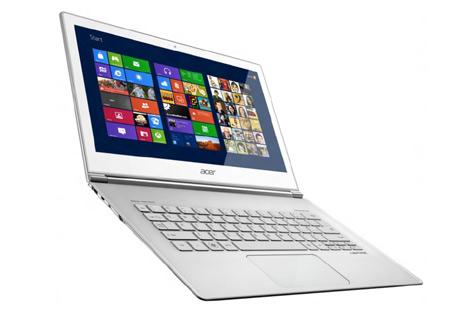 "Ultrabook tactile 11.6 "" Acer S7-191, Intel Core i5, 128 Go SSD, 4 Go RAM"
