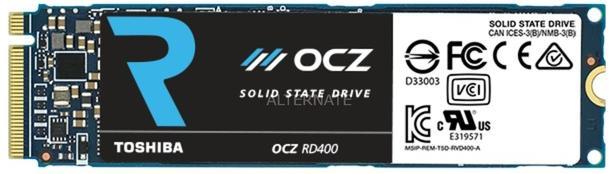 SSD interne M2 NVME Toshiba / OCZ RD400 ( MLC) - 512 Go