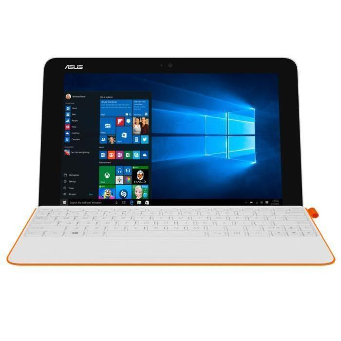 "Tablette hybride 10.1"" Asus Transformer Book T102HA - HD, 4 Go RAM, 64 Go ROM, Intel Atom, Windows 10"