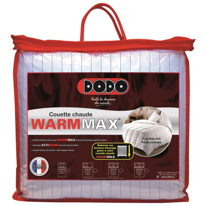 Couette Dodo Warmax 220x240cm