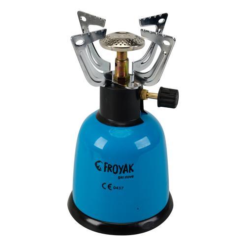 Réchaud à gaz butane Froyak - 1 feu
