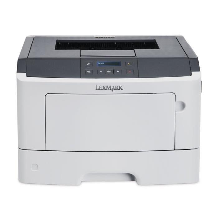 Imprimante Laser monochrome Lexmark MS312dn - Recto/Verso, Ethernet