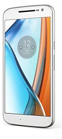 "Smartphone 5.5"" Lenovo Moto G4 Blanc- Full HD, 16 Go ROM, 2 Go RAM, Android 7.0, Blanc ou Noir"