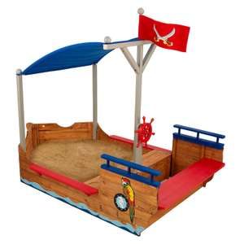 Bac À Sable Kidkraft 128 - Bateau Pirate