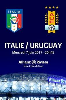 Places pour le match Italie - Uruguay à Nice le 7 Juin 2017