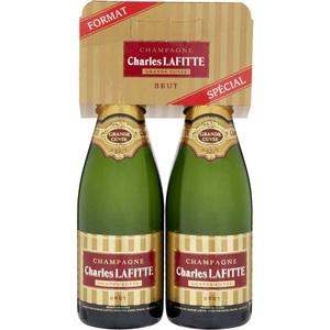 2 bouteilles de Champagne Lafitte 75 cl (50% fidélité)