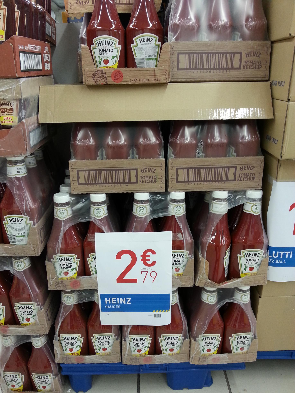 Bouteille de Ketchup Heinz - 1.16L