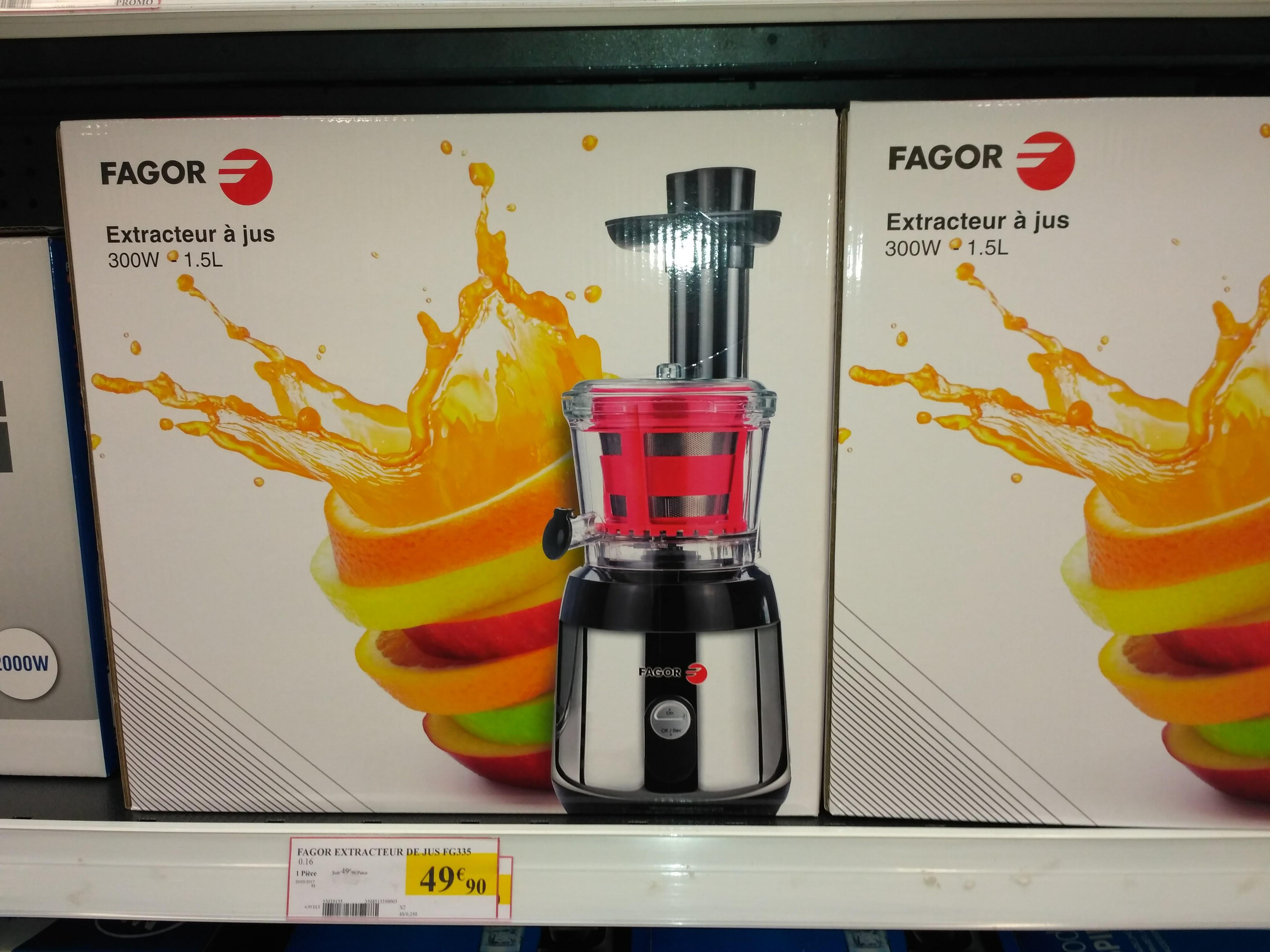 Extracteur de Jus Fagor FG335