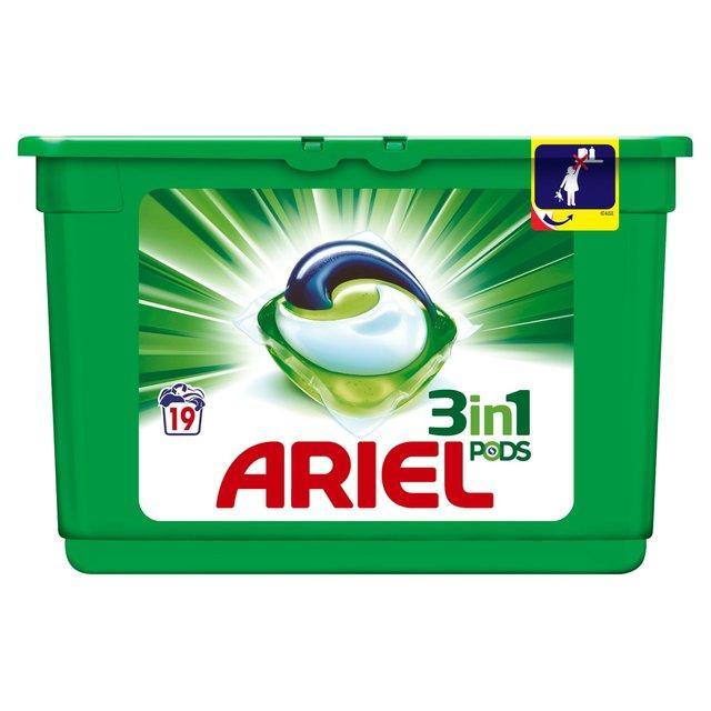 Lessive Ariel 3en1 Pods - 35 Lavages (via BDR + ODR)