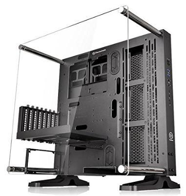 Boîtier Thermaltake Core P3 Noir pour PC - E-ATX/ATX/Micro ATX