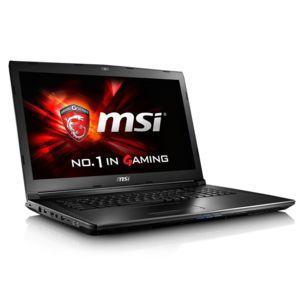 "PC Portable 17.3"" MSI GL72 7QF-1031XFR - Full HD, i5-7300HQ, 8 Go RAM, 1 To HDD, GTX 960M, FreeDOS"