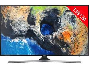 "TV 55"" Samsung UE55MU6105 - Dalle VA, UHD, Smart TV, 1300 PQI (via ODR de 200€ + 6 mois d'abonnement à OCS)"