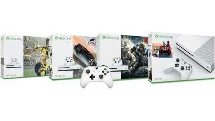 Pack Console Xbox One S 500 Go au choix + 1 jeu + 2ème manette au choix