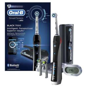 Brosse à dents Oral-B Smart Series 7000 Black électrique (via ODR 40€)